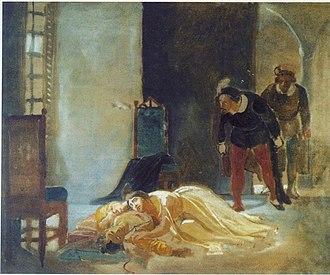 Imelda de' Lambertazzi - Death of  Imelda de' Lambertazzi  by Nikolay Ge