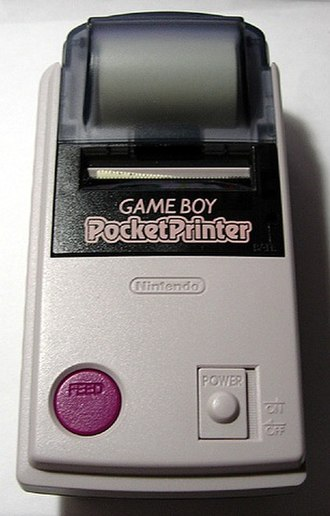 Printer (computing) - The Game Boy Pocket Printer, a thermal printer released as a peripheral for the Nintendo Game Boy