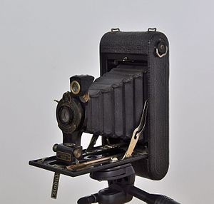 Nº1 Autographic Kodak Jr. camera, made by East...