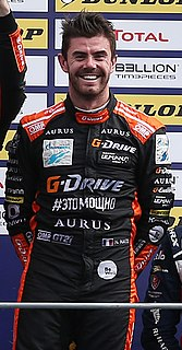 Norman Nato professional racing driver from France