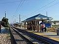 North at passenger platform at Meadowbrook station, Aug 16.jpg