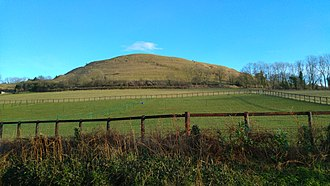 Hambledon Hill - North end of Hambledon Hill