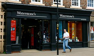 Great Reality TV Swindle - At the time of the swindle, Russian was working at a branch of the UK book chain Waterstone's (example pictured).