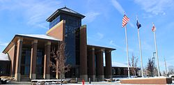 Northville Township Michigan Municipal Building.JPG