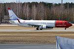 Norwegian (Soren Kierkegaard livery), EI-FHP, Boeing 737-8JP (33823893385).jpg