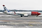 Norwegian (Theodor Kittelsen Livery), LN-BKF, Boeing 737-8 MAX (45939554624).jpg