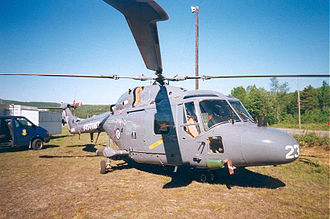 No. 337 Squadron RNoAF - Westland Lynx at Bardufoss Air Station in 1998