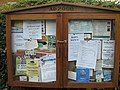 Notices, Apperley - geograph.org.uk - 1409860.jpg