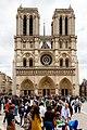 Notre-Dame de Paris West front 2015-07-27 (2).jpg