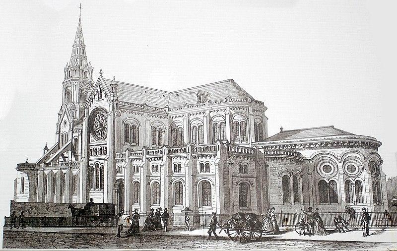 Fichier:Notre Dame de la Croix - fin 19eme siecle.JPG