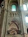 Noyon (60), cathédrale Notre-Dame, croisillon sud, 1ère travée, parties hautes côté est.jpg