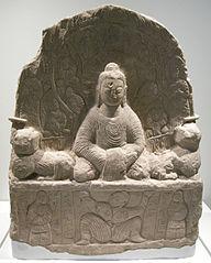 Buddhist stele