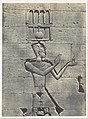 Nubie. Kalabscheh. Sculptures de la Facade postérieure du Temple MET DP116191.jpg