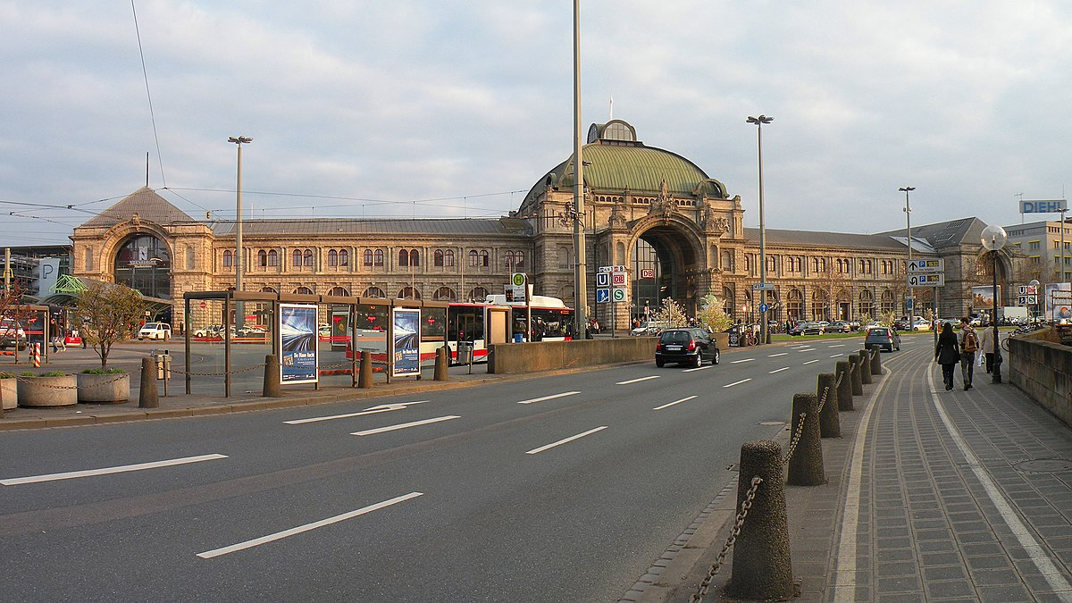 n rnberg hauptbahnhof wikipedie. Black Bedroom Furniture Sets. Home Design Ideas
