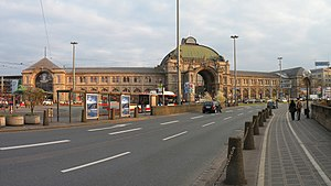 Nuremberg.Central railway station