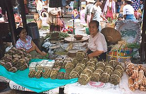Cheroot - Cheroots sold in the market at Nyaungshwe, Burma.