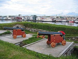 Bodø - Nyholms Skandse, Bodø