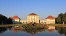 Nymphenburger Schloss at sunset.JPG