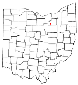 Location of Lodi, Ohio