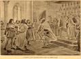 O Infante D. Dinis recusando beijar a mão a D. Leonor Telles - História de Portugal, popular e ilustrada.png