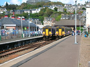 Oban railway station - Image: Oban Railway Station June 2011
