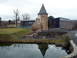 Heutiger Zustand der Oberen Burg, mit dem Museumsgästehaus