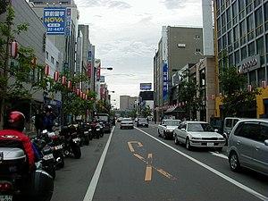 Obihiro, Hokkaido - Main Street in Obihiro