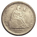 Obverse of 1875 United States 20c coin.jpg