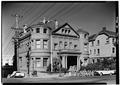 October 1960 SOUTHWEST ELEVATION - Whittier Mansion, 2090 Jackson Street, San Francisco, San Francisco County, CA HABS CAL,38-SANFRA,75-2.tif