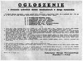 Ogłoszenie getta szczątkowe dystrykt warszawski 1943.jpg