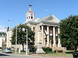Old Roanoke County Courthouse - Old Roanoke County Courthouse, September 2012
