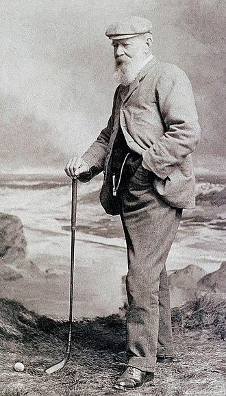 Old Tom Morris - Morris in 1901