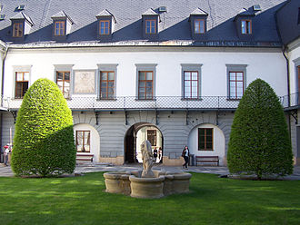 Palacký University - Philosophical Faculty courtyard