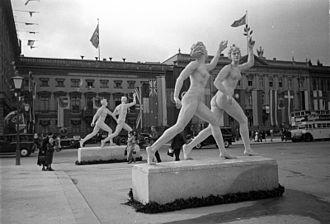 Art of the Third Reich - Image: Olympics in Berlin 1936