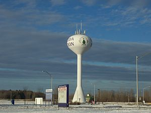 Oneida Nation of Wisconsin - A watertower for the Oneida Nation in Oneida