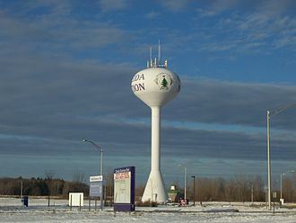 Oneida Nation of Wisconsin - A watertower for the Oneida Nation in Oneida, Wisconsin