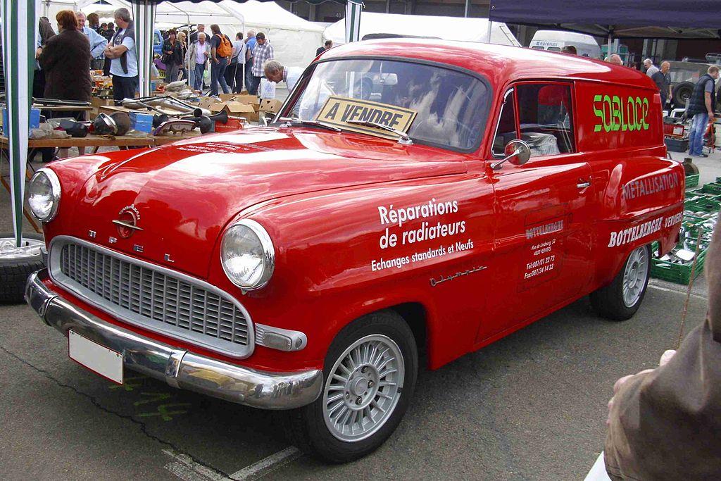 1956 Opel Olympia Rekord - Fotos de coches - Zcoches