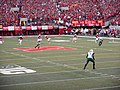Opening kickoff in the Nebraska vs. Miami game (9-20-2014).jpg