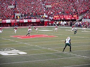 2014 Nebraska Cornhuskers football team - Opening kickoff.