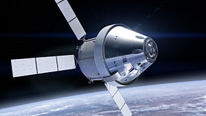 Orion with Orion Service Module