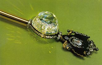 "Diamond Fund - Imperial scepter with the ""Orlov"" diamond"