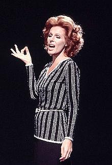 Ornella Vanoni negli anni '70
