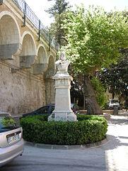 ortigia monumento a garibaldi
