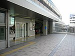 Osaka-monorail Dainichi station 2F AEON ticket gate - panoramio (1).jpg