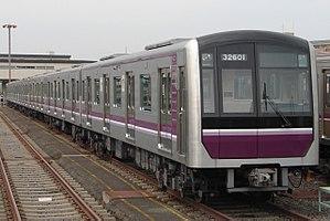 Tanimachi Line - Image: Osaka Subway 32601F 20090918