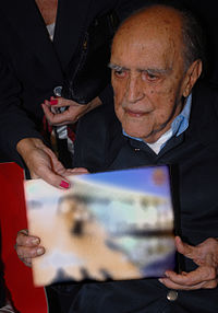 Oscar Niemeyer in 2008.