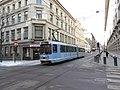Oslo tram line 12 on Prinsens gate.jpg