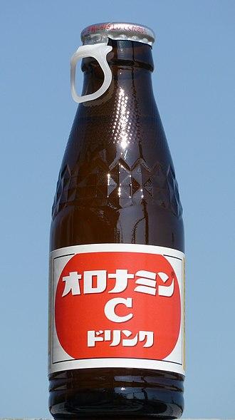 Oronamin - A bottle of Oronamin C
