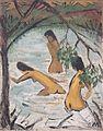 Otto Mueller - Drei badende im Wasser - ca1913.jpeg