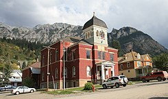 Ouray County CO Court House 1881 2006 01 13.jpg